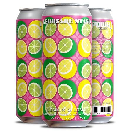 Powell Brewery Brings Back Lemonade Stand Lemon & Lime Berliner with Vanilla