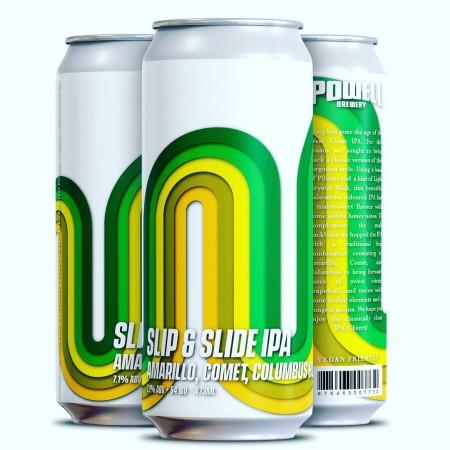 Powell Brewery Releases Slip & Slide IPA