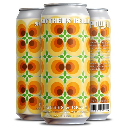 Powell Brewery Brings Back Southern Belle Peaches & Cream Berliner
