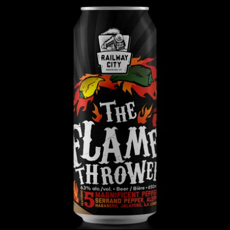 Railway City Brewing Brings Back The Flame Thrower Spiced Saison
