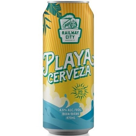 Railway City Brewing Releases Playa Cerveza Lager