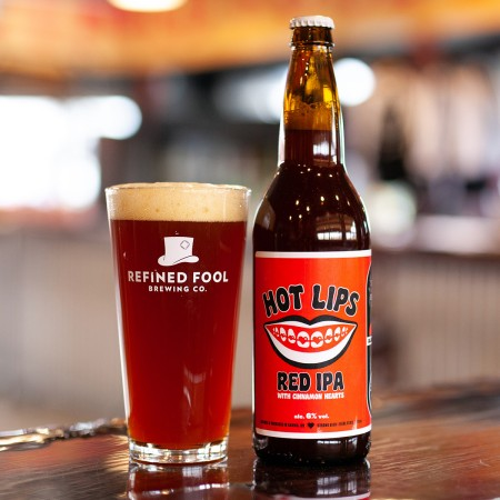 Refined Fool Brewing and The Society of Beer Drinking Ladies Release Hot Lips Red IPA
