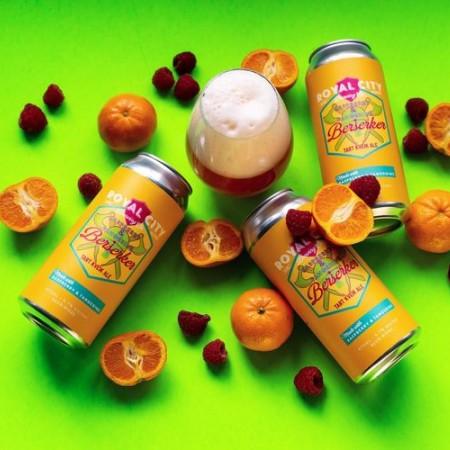 Royal City Brewing Releases Raspberry & Tangerine Berserker Tart Kveik Ale