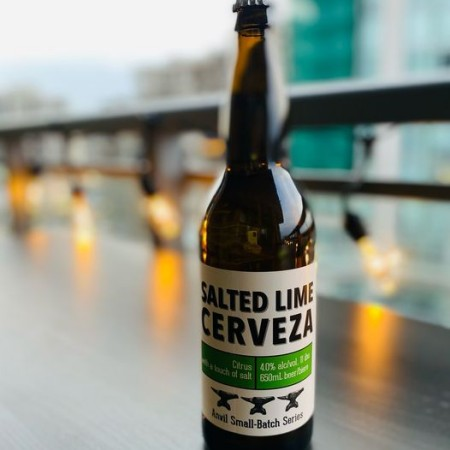 Shawn & Ed Brewing Anvil Small-Batch Series Continues with Salted Lime Cerveza