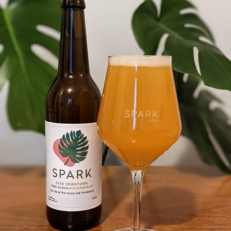 Spark Beer Releases Even Downtown Pink Guava & Passionfruit and Voices Carry Raspberry Sours