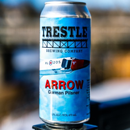 Trestle Brewing Releases Arrow German Pilsner and Firewood Bourbon Barrel Aged Stout