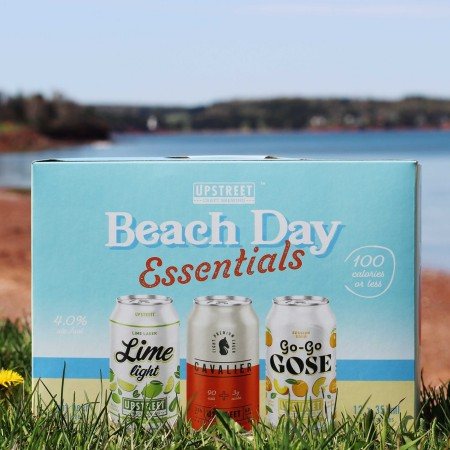 Upstreet Craft Brewing Releases Beach Day Essentials Mixed Pack