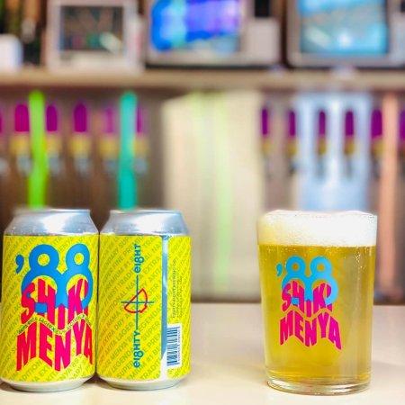 Eighty-Eight Brewing and Shiki Menya Release Menya '88 Legendary Super Fine Premium #1 Best Traditional Nama Extra Dry Akita Lager