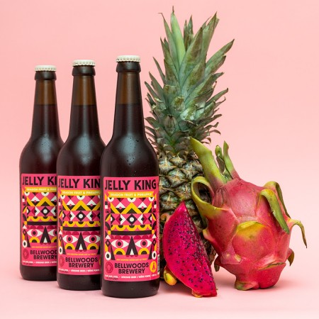 Bellwoods Brewery Releases Dragon Fruit & Pineapple Jelly King