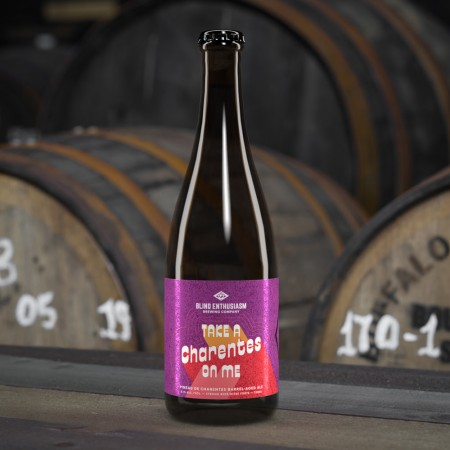 Blind Enthusiasm Brewing Releasing Take a Charentes on Me Barrel-Aged Ale