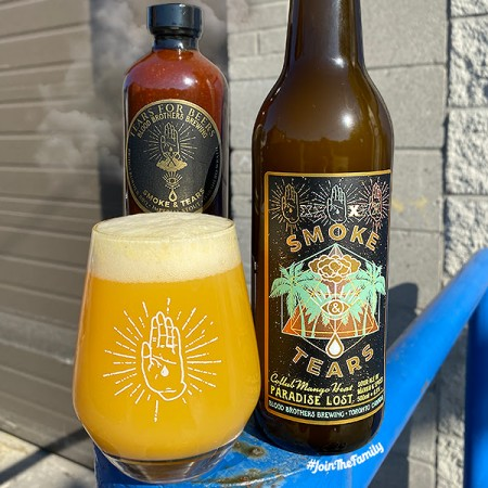 Blood Brothers Brewing and Smoke & Tears Release Mango Heat Edition of Paradise Lost Sour Ale
