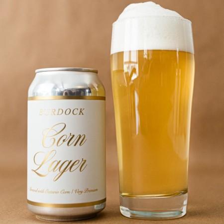 Burdock Brewery Releases Corn Lager