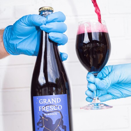 Burdock Brewery Releases Grand Fresco Grape Ale