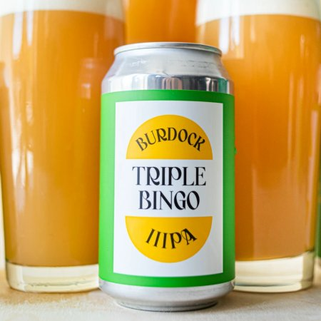 Burdock Brewery Releases Triple Bingo IIIPA