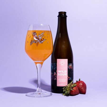 Collective Arts Brewing Releases Strawberry & Rhubarb Wild Sour