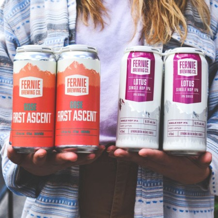 Fernie Brewing Brings Back First Ascent Gose and Lotus Single Hop IPA