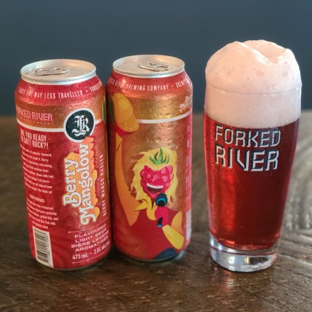 Forked River Brewing Releases Berry Mangolow Radler