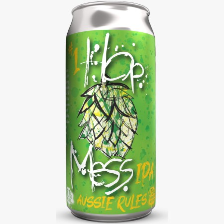 Garrison Brewing Launches Hop Mess IPA Series with Aussie Rules