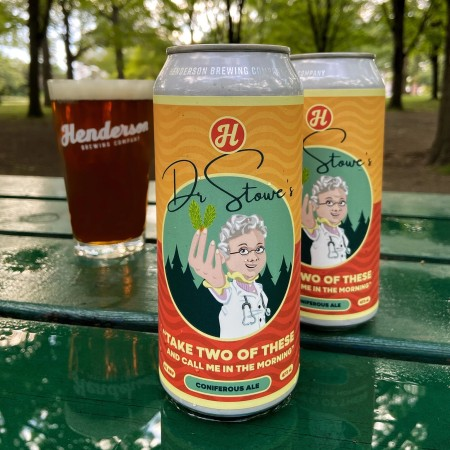 Henderson Brewing Ides Series Continues with Dr. Stowe's Coniferous Ale