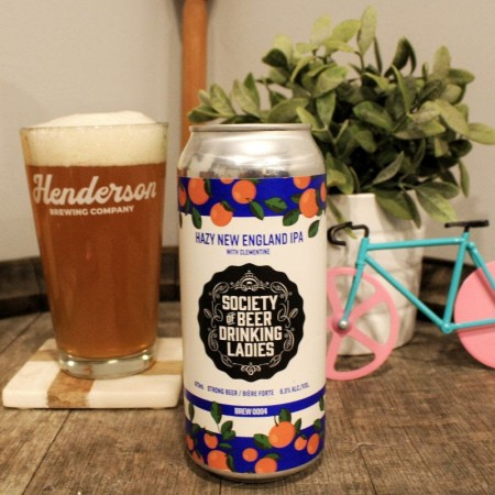 Henderson Brewing and Society of Beer Drinking Ladies Bring Back New England IPA with Clementine