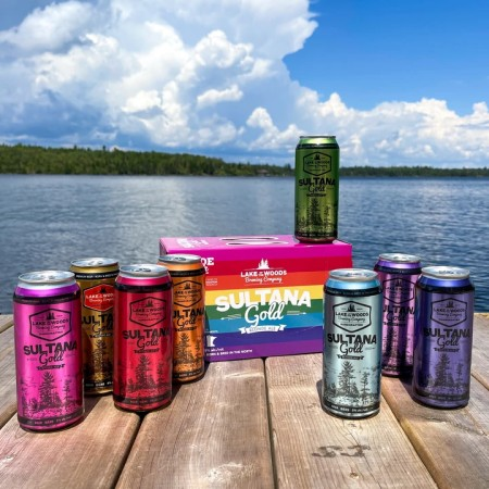 Lake of the Woods Brewing Releases Sultana Gold Pride Pack for Rainbow Resource Centre