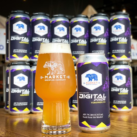 Market Brewing and York Pride Release Digital Pride IPA