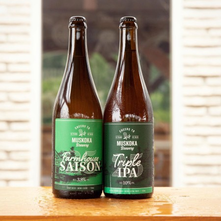 Muskoka Brewery Releases 25th Anniversary Triple IPA and Farmhouse Saison