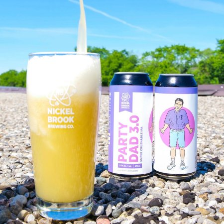 Nickel Brook Brewing Releases Party Dad 3.0 IPA