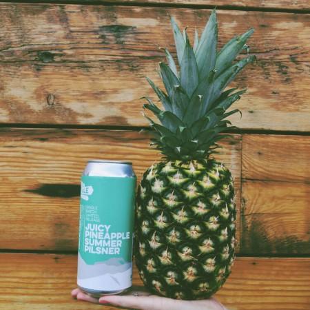 Old Yale Brewing Releases Juicy Pineapple Summer Pilsner