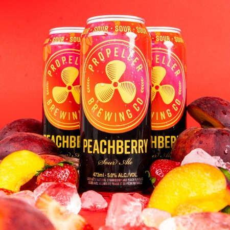 Propeller Brewing Releases Peachberry Sour Ale