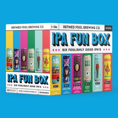 Refined Fool Brewing Releases 2nd Edition of IPA Fun Box