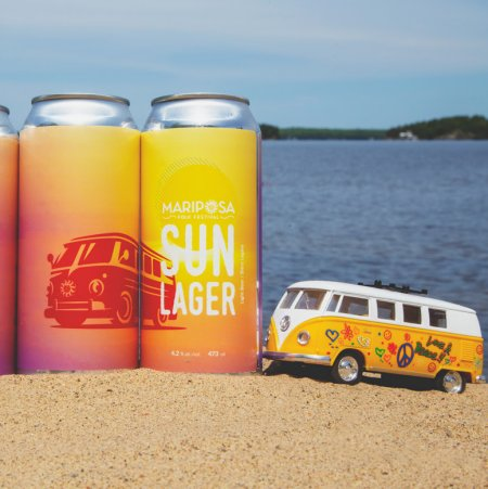 Sawdust City Brewing and Mariposa Folk Festival Bring Back Mariposa Sun Lager