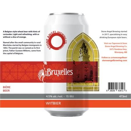 Stone Angel Brewing Brings Back Bruxelles Witbier