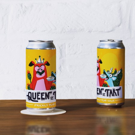 Tin Whistle Brewing Releases Queen of Tart Prickly Pear Cactus Sour for Osoyoos Desert Centre