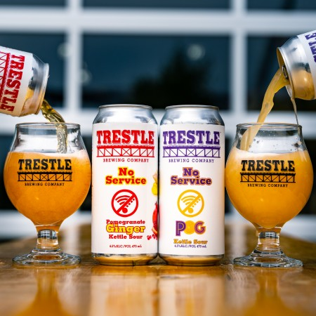 Trestle Brewing Releases Two New Versions of No Service Sour