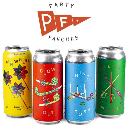 Wellington Brewery Releases 2021 Edition of Party Favours Sour Pack
