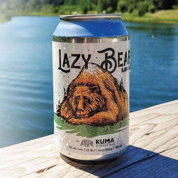 Alley Kat Brewing & Kuma Outdoor Gear Release Lazy Bear Blonde Ale