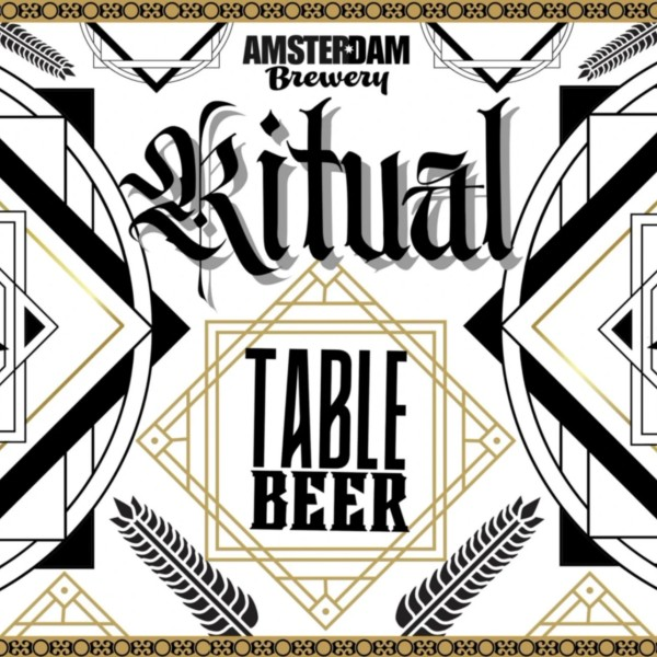 Amsterdam Brewery Releases Ritual Table Beer