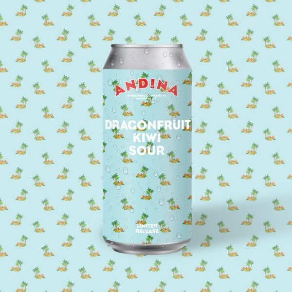 Andina Brewing Releases Recuerdo Dragonfruit Kiwi Sour