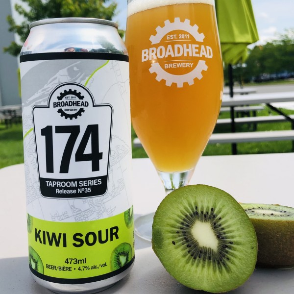Broadhead Brewery 174 Taproom Series Continues with Kiwi Sour