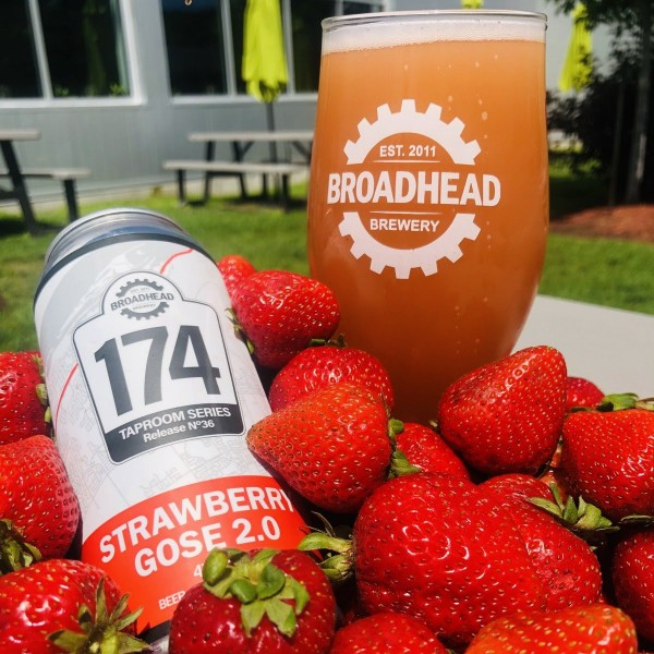 Broadhead Brewery 174 Taproom Series Continues with Strawberry Gose 2.0
