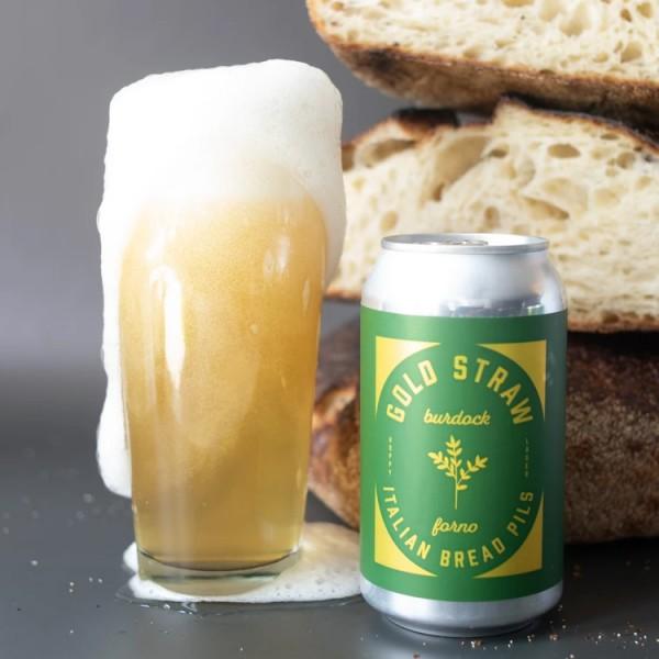 Burdock Brewery and Forno Cultura Release Gold Straw Italian Bread Pils