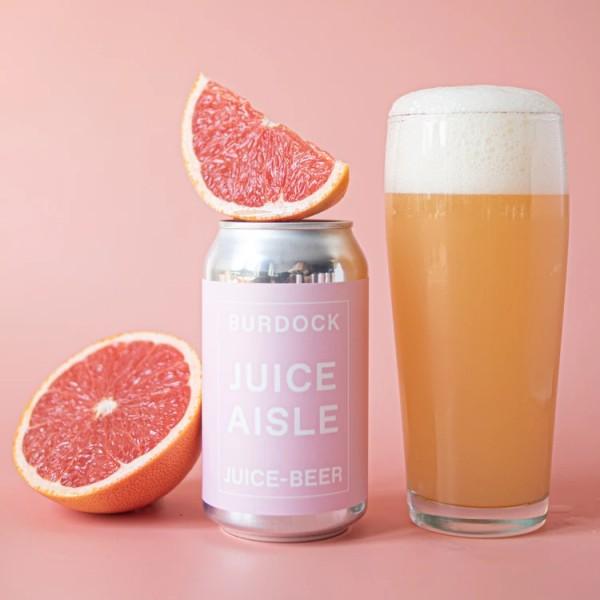 Burdock Brewery Releases Juice Aisle Grapefruit Ale