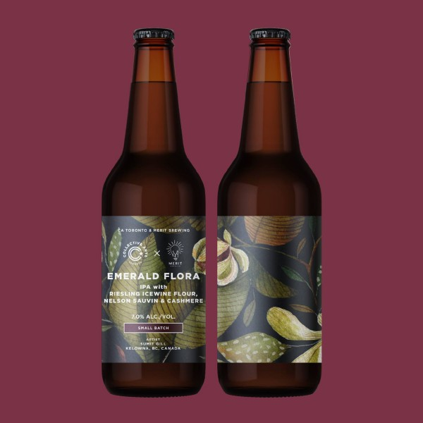 Collective Arts Brewing and MERIT Brewing Release Emerald Flora IPA
