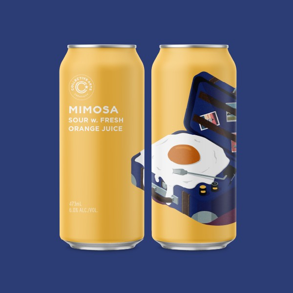 Collective Arts Brewing Releases Mimosa Sour and Grapefruit Mimosa Sour