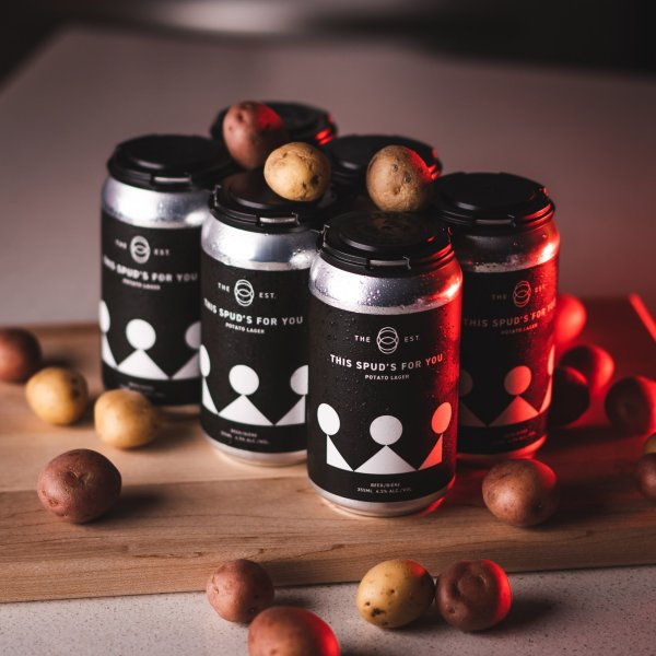 The Establishment Brewing Company Releases This Spud's For You Potato Lager for Grow Calgary