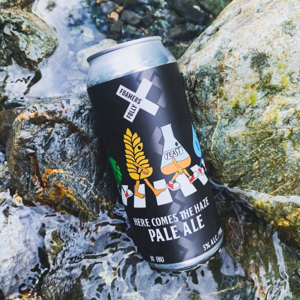 Foamers' Folly Brewing Releases Here Comes The Haze Pale Ale