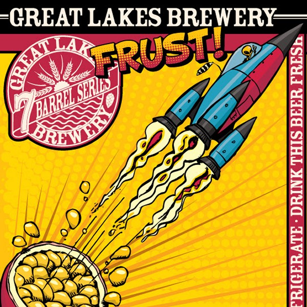 Great Lakes Brewery Releases FRUST! A Fruited IPA