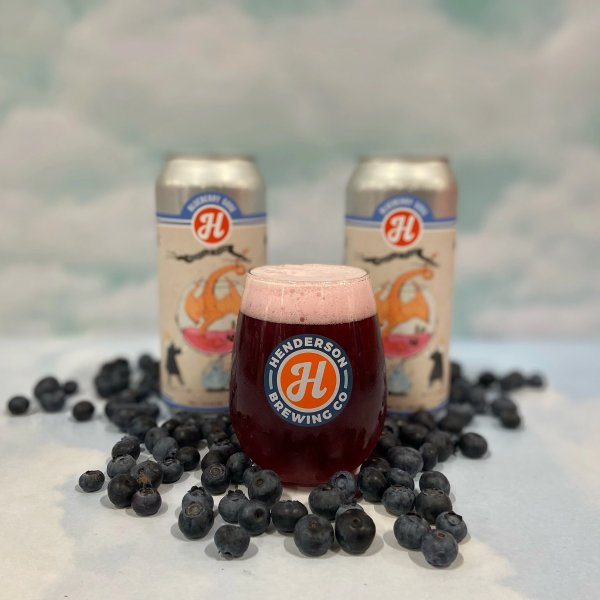 Henderson Brewing Releases Blueberry Gose