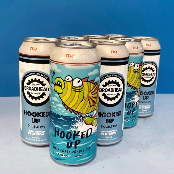 Henderson Brewing and Broadhead Brewery Release Hooked Up DIPAs